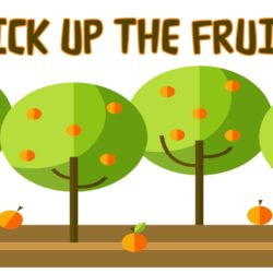 PICK UP FRUIT