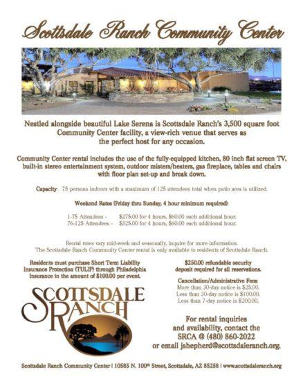 Community Center Rental